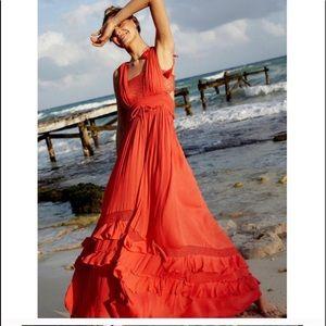 black dress Santa Maria maxi dress